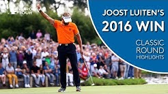 Joost Luiten's closing 63 to win 2016 KLM Open | Classic Round Highlights