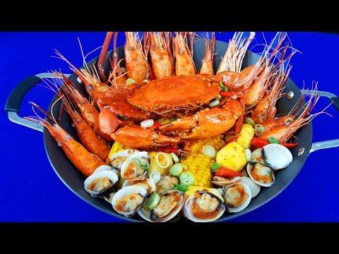 cách hấp hải sản ngon nhất - Cách làm HẢI SẢN SỐT CAY CỰC NGON VÀ HẤP DẪN - Món Ăn Ngon