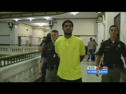 Man convicted of punching elderly woman sentenced in court