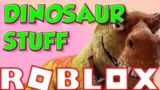 ROBLOX DINOSAUR STUFF (Short Gaming Video Highlights)