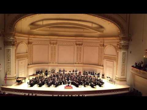 Samantha Frias performance at Carnegie Hall - Mira Costa High School