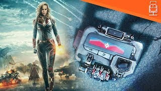 First Captain Marvel Teaser Poster Sort of Released