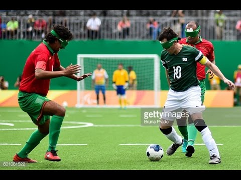 Day 2 morning | Football 5-a-side highlights | Rio 2016 Paralympic Games