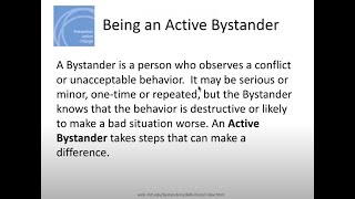 Teaching Active Bystander Intervention with Clara Porter
