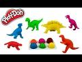 Dinosaurs Play doh T-Rex Dinosaur  Tyrannosaurus Rex dinosaur toy Jurassic