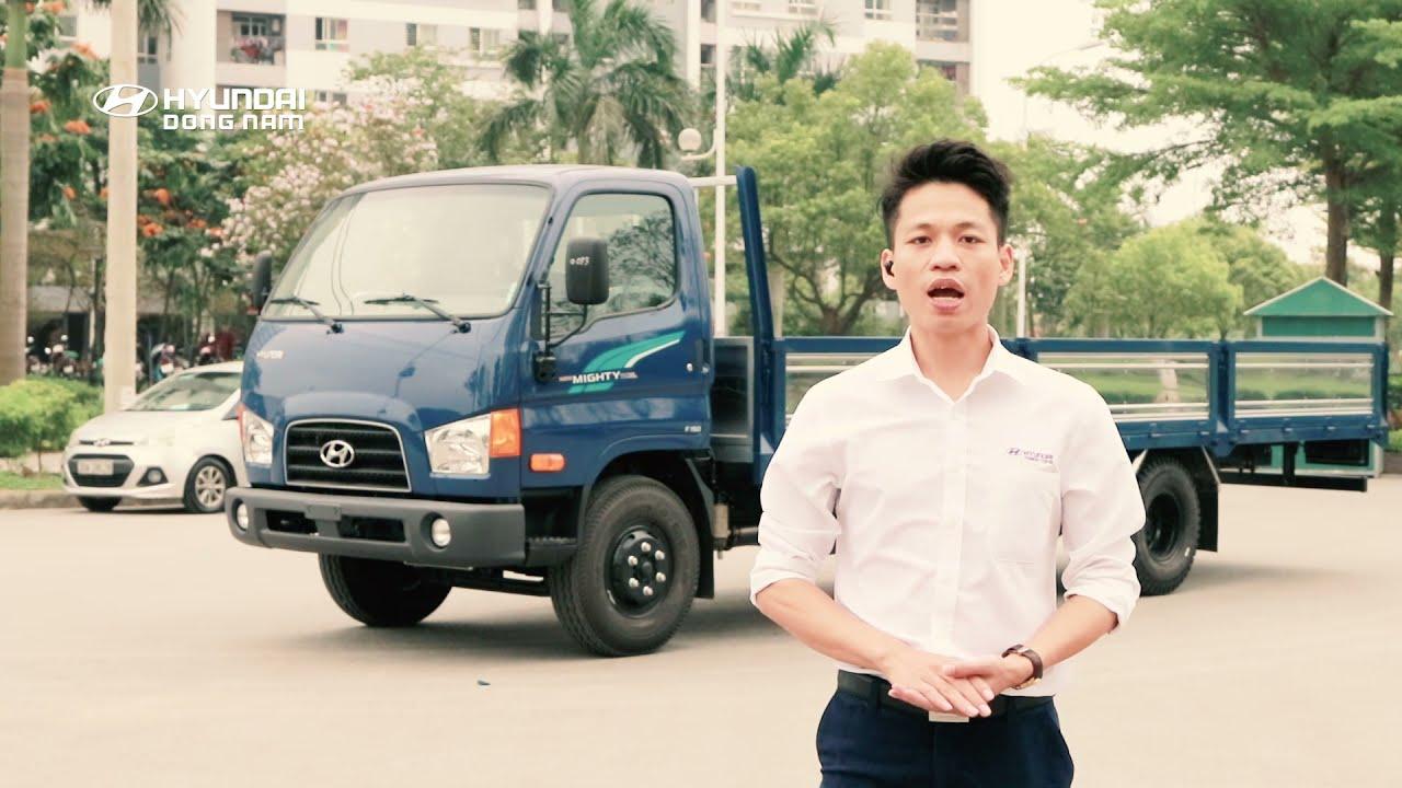Review Hyundai 110XL 7 tấn thùng dài 6m3