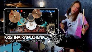 Kristina Rybalchenko Drum Set Into Real Drum App Preset Kit || Modded By Tugs'tupakk!
