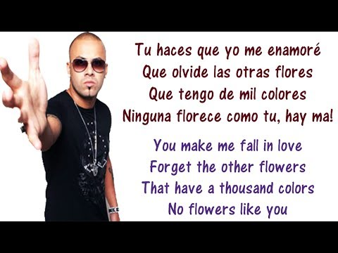 Wisin - Nota De Amor - Lyrics English and Spanish Ft Carlos Vives & Daddy Yankee Translation Letras