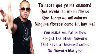 Wisin - Nota De Amor - Lyrics English and Spanish Ft Carlos Vives & Daddy Yankee Translation Letras