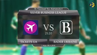 LIVE   Tickets UA - Bader Ukraine (Silver Business League. 1 тур)