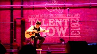 Andy Mckee-Drifting Cover (Talent Show)