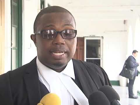 Guyanese Attorney Dexter Todd Called to the Bar in Order to Represent Mason