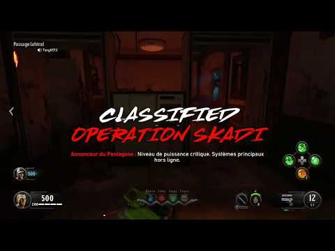BO4 THE CLASSIFIED - OPERATION SKADI + ARME SPECIALE (TUTO FR)