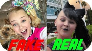 Jojo Siwa BREAKS CHARACTER (HOW SHE REALLY ACTS)