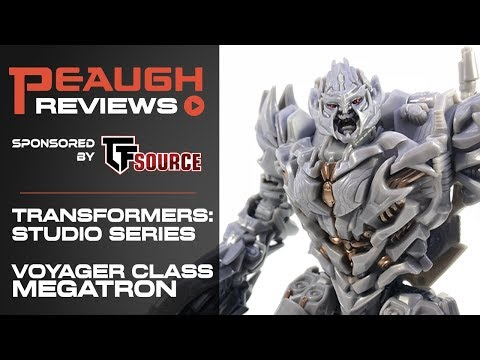 Video Review: Transformers Studio Series - Voyager MEGATRON