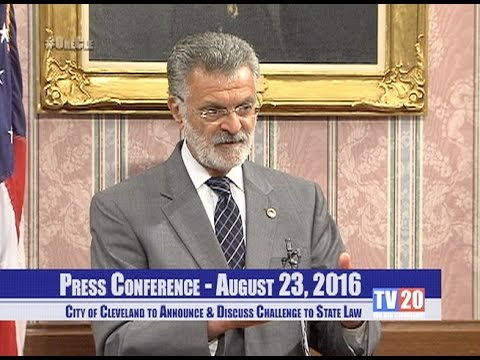 Press Conference: August 23, 2016 - City Hall Red Room