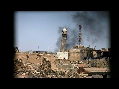 Mossul: A mesquita onde foi proclamado o califado do EI foi destruída