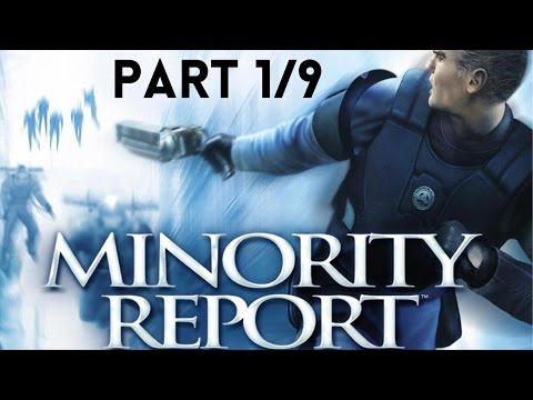 Minority Report: Everybody Runs Full Game (PART 1/9)(HD)