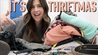 THRIFTMAS Day 1 | Come Thrifting With Me