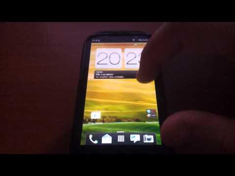 HTC Amaze 4G ICS Sense 4 Rom preview