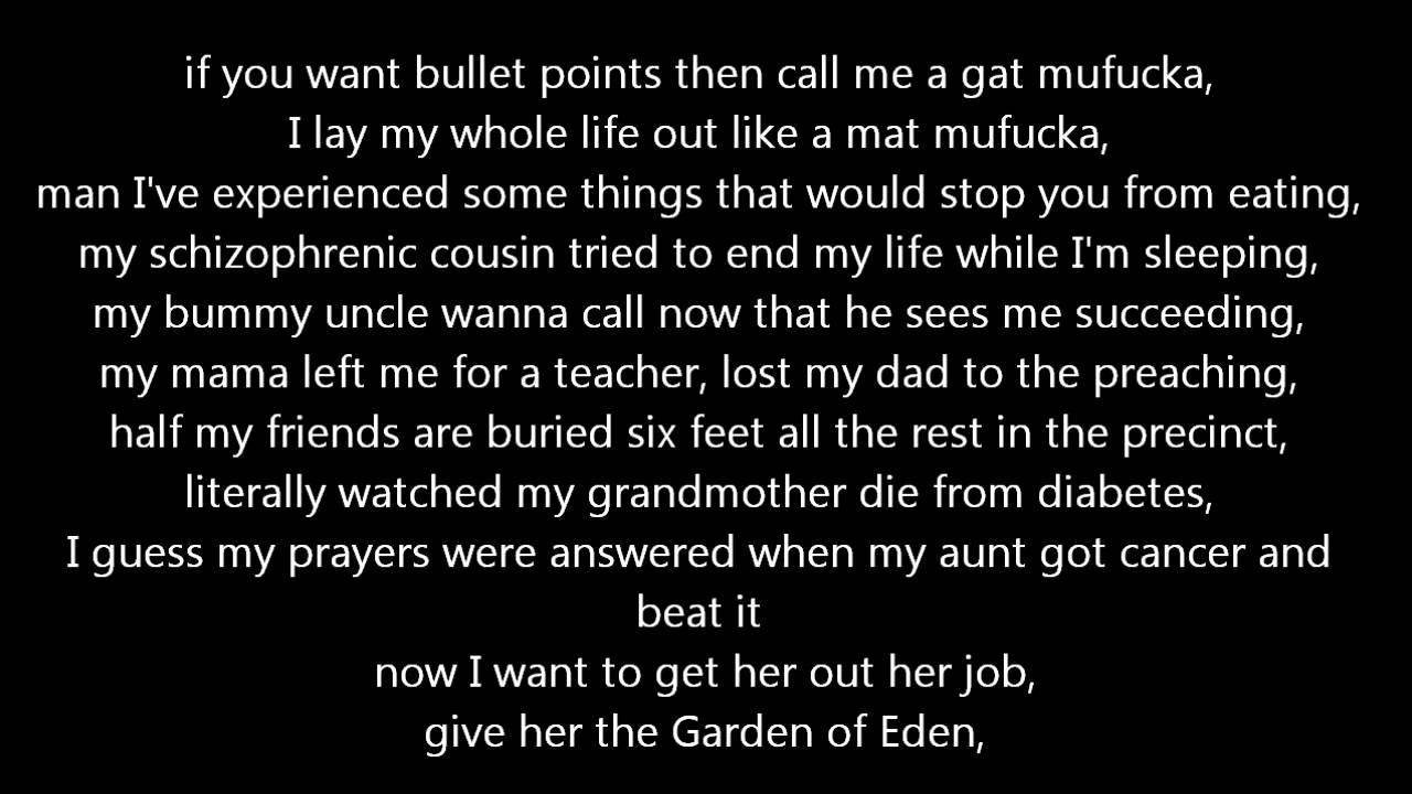 Machine Gun Kelly The Return Lyrics Youtube