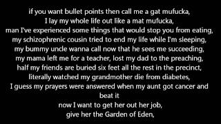 Repeat youtube video Machine Gun Kelly - The Return (Lyrics)