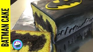 How to make Batman Cake - Pinch of Luck