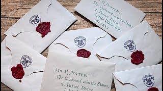 DIY Harry Potter Letter   PAUADELL