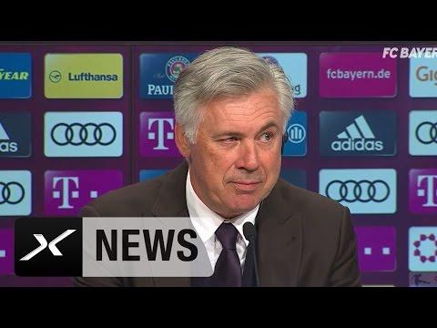 Carlo Ancelotti über Gladbach-Sieg und Costa-Selfie | FC Bayern München - Borussia M'gladbach 2:0