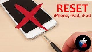 ✅ Jak resetovat iPhone, iPad, iPod [HODÍ SE VĚDĚT] - tvrdý restart