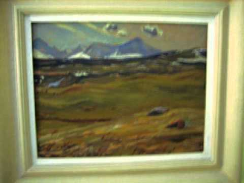 GROUP OF SEVEN ART.AY JACKSON RECORDED IN 1950