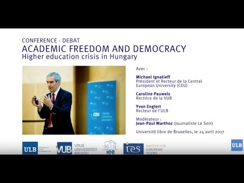 Conference Academic Freedom & Democracy: Higher Education Cr