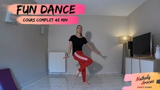 FUN CARDIO DANCE WOROUT / COMPLET 45 MIN - Nathaly Arocas Dance Class