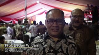 Pemberian Golden Award SIWO PWI 2019 untuk Kemensetneg RI, Surabaya, 8 Februari 2019