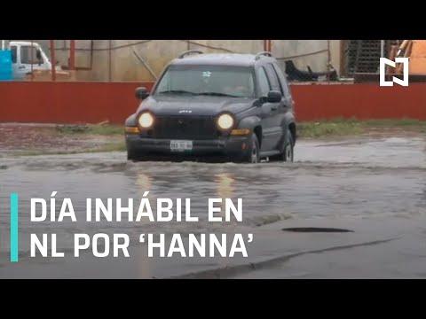 Gobierno de NL decreta este lunes como inhábil tras el paso de 'Hanna' - Despierta