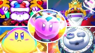 Evolution of Final Boss Deaths in Kirby Games (1992-2018)