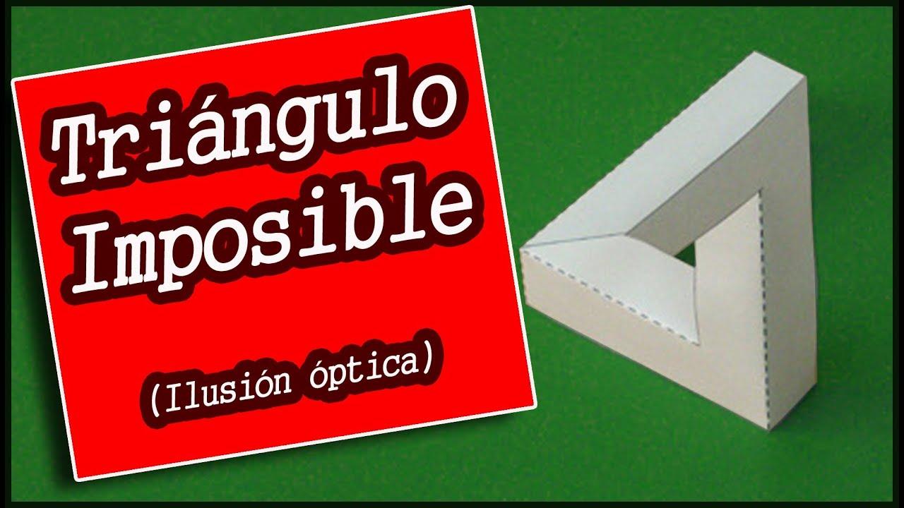 Tri ngulo imposible ilusi n ptica youtube - Ilusiones opticas para imprimir ...