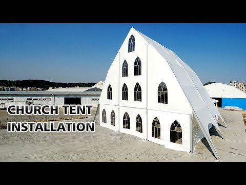 New Design Church Tent for Outdoor Religious Event