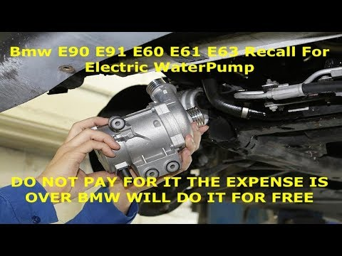 Bmw E60 E61 E63 E90 E91 E92 All Recalls Listed & Newest Recall As Of 06/08/2019 From Bmw MUST WATCH
