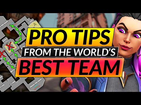 How the BEST Valorant PRO TEAM in the WORLD DOMINATES - Vision Strikers Tips Guide