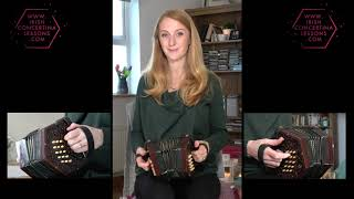Irish Concertina Lesson Online with Caitlin Nic Gabhann
