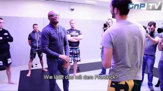 Anderson Silva Seminar - The spider shows some skills