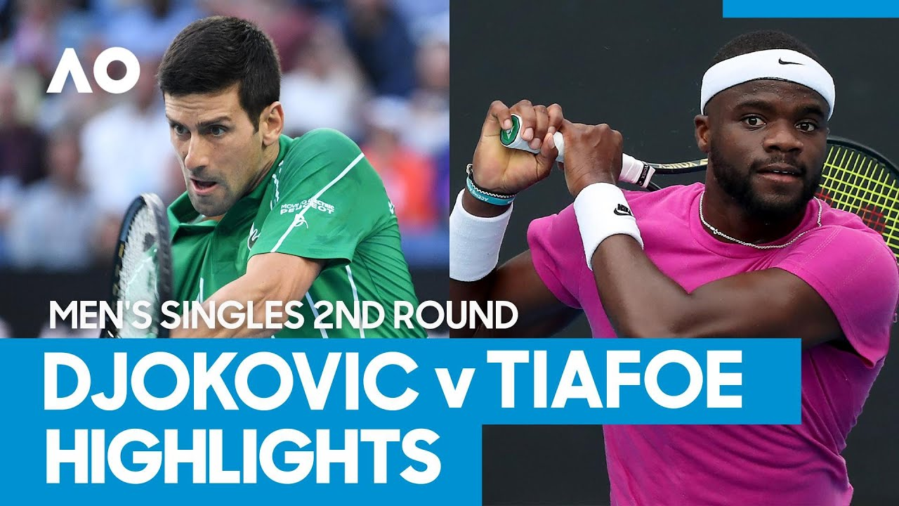 Novak Djokovic vs Frances Tiafoe Match Highlights (2R) | Australian Open 2021 - Australian Open TV