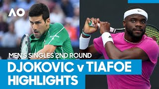 Novak Djokovic vs Frances Tiafoe Match Highlights (2R) | Australian Open 2021