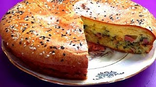 Наипростейший пирог с капустой и еще кое с чем. Готовим вкусно