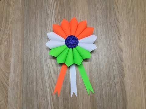 Download Independence Day Craft Ideas India 2019 Flower Making
