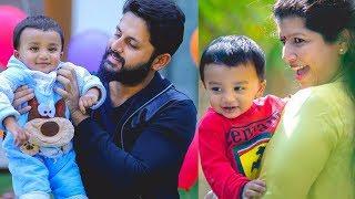 Hero Nitin Family Photos