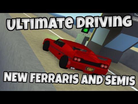 Ultimate Driving - NEW FERRARIS AND SEMIS!