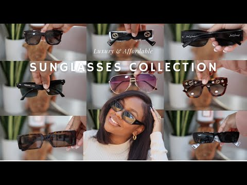 Sunglasses Collection: Luxury and Affordable   GUCCI, Saint Laurent