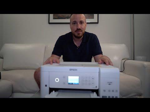 Epson EcoTank ET-3710 Printer blogger review